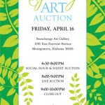 Montessori Academy Spring Art Auction poster