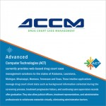 ACT Drug Court Case Management brochure