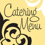 Louisas Bakery catering menu